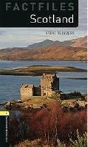 Couverture du livre « Scotland factfile ; niveau 1 » de Steve Flinders aux éditions Oxford Up Elt