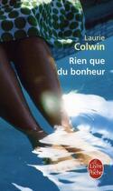 Couverture du livre « Rien que du bonheur » de Colwin-L aux éditions Lgf