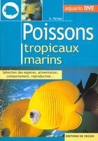 Couverture du livre « Poissons Tropicaux Marins » de Parisse aux éditions De Vecchi