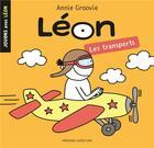 Couverture du livre « Jouons avec leon-les transports » de Annie Groovie aux éditions Presses Aventure