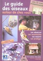 Couverture du livre « Le guide des oiseaux autour de chez vous » de G. Leblais aux éditions Tetras