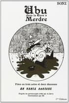 Couverture du livre « Ubu dans la cuve a merdre » de Sonz aux éditions Goater