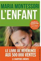 Couverture du livre « L'enfant » de Maria Montessori aux éditions Desclee De Brouwer
