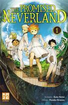 Couverture du livre « The promised Neverland T.1 » de Posuka Demizu et Kaiu Shirai aux éditions Kaze
