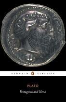 Couverture du livre « Protagoras and Meno » de Plato Jeremy aux éditions Penguin Books Ltd Digital