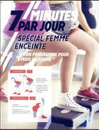 Couverture du livre « 7 minutes par jour de sport pour les femmes enceintes » de Bakary Sissako aux éditions Hachette Pratique