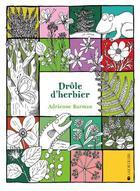 Couverture du livre « Drôle d'herbier » de Adrienne Barman aux éditions La Joie De Lire