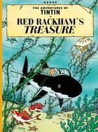 Couverture du livre « The adventures of Tintin T.12 ; red Rackham's treasure » de Herge aux éditions Casterman