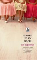Couverture du livre « Les suprêmes » de Edward Kelsey Moore aux éditions Actes Sud