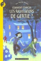 Couverture du livre « Comment coincer les ravisseurs de gertie ? » de Linda Bailey aux éditions Actes Sud Junior