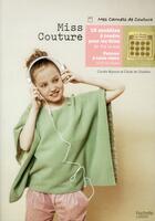 Couverture du livre « Miss Couture » de Cecile De Chatillon et Coralie Bijasson aux éditions Hachette Pratique