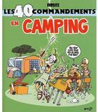 Couverture du livre « Les 40 commandements en camping » de Gael et Babouse aux éditions Wygo