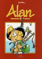 Couverture du livre « Alan t.2 » de Serge Lindier aux éditions Jos Le Doare