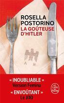 Couverture du livre « La goûteuse d'Hitler » de Rosella Postorino aux éditions Lgf