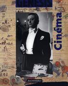 Couverture du livre « Cinéma » de Genesis aux éditions Nouvelles Editions Jm Place