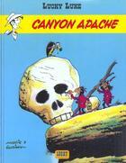 Couverture du livre « Lucky Luke T.37 ; canyon apache » de Rene Goscinny et Morris aux éditions Lucky Comics