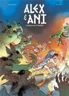Couverture du livre « Alex & Ani T.2 ; l'épreuve d'Hadès » de Nathaniel Legendre et Silvio Speca aux éditions Cerises Et Coquelicots