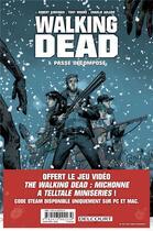 Couverture du livre « Walking dead - pack tome 1 + prime 2017 » de  aux éditions Delcourt