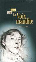 Couverture du livre « La voix maudite » de Vernon Lee aux éditions Terre De Brume