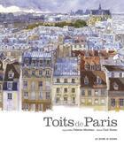Couverture du livre « Les toits de Paris » de Carl Norac et Fabrice Moireau aux éditions Pacifique