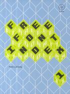 Couverture du livre « Free font index » de Collectif aux éditions Pepin Press