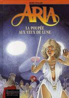 Couverture du livre « Aria t.29 ; la poupée aux yeux de lune » de Michel Weyland aux éditions Dupuis