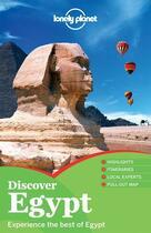 Couverture du livre « Discover Egypt (2e édition) » de Anthony Sattin aux éditions Lonely Planet France