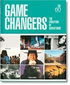 Couverture du livre « Game changers. the evolution of advertising - va » de Russell Peter aux éditions Taschen