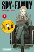 Couverture du livre « Spy x family T.1 » de Tatsuya Endo aux éditions Kurokawa