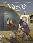 Couverture du livre « Vasco T.28 ; I Pittori » de Dominique Rousseau et Gilles Chaillet et Luc Revillon aux éditions Lombard