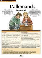 Couverture du livre « L'allemand t.1 ; l'essentiel » de Collectif aux éditions Aedis