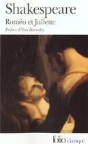Couverture du livre « Roméo et Juliette » de William Shakespeare aux éditions Gallimard