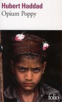 Couverture du livre « Opium Poppy » de Hubert Haddad aux éditions Gallimard