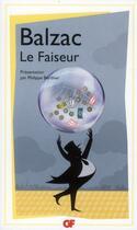 Couverture du livre « Le faiseur » de Honoré De Balzac aux éditions Flammarion