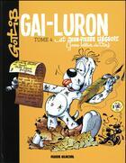 Couverture du livre « Gai-Luron T.4 ; Gai-Luron et Jean-Pierre Liégeois » de Gotlib aux éditions Fluide Glacial