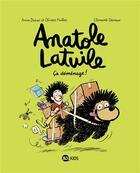Couverture du livre « Anatole Latuile T.9 ; ça déménage ! » de Olivier Muller et Anne Didier et Clement Devaux aux éditions Bd Kids
