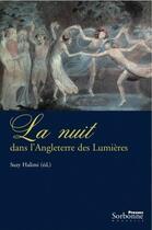Couverture du livre « La nuit dans l'Angleterre des lumières » de Suzy Halimi aux éditions Presses De La Sorbonne Nouvelle