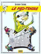 Couverture du livre « Lucky Luke T.33 ; le pied-tendre » de Rene Goscinny et Morris aux éditions Lucky Comics
