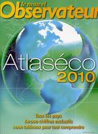 Couverture du livre « Atlaséco 2010 » de Clare Et Alii aux éditions Le Nouvel Observateur