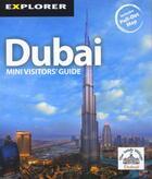 Couverture du livre « **Dubai » de  aux éditions Explorer