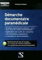 Couverture du livre « Démarche documentaire en paramédicale » de Christine Paillard aux éditions Setes