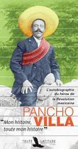 Couverture du livre « Pancho Villa » de Pancho Villa aux éditions Toute Latitude