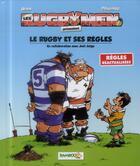 Couverture du livre « Les rugbymen HORS-SERIE ; le rugby et ses règles » de Beka et Poupard aux éditions Bamboo