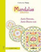 Couverture du livre « Mandalas bien-être T.5 ; mandalas détente ; anti-stress, anti-burn-out » de Catherine Vasey aux éditions Jouvence