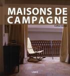 Couverture du livre « Maisons de campagnes » de Colisa Camps aux éditions Links