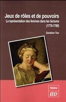 Couverture du livre « Jeux de roles et de pouvoirs » de Ther Geraldine aux éditions Pu De Dijon
