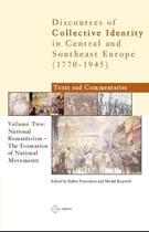 Couverture du livre « National Romanticism: The Formation of National Movements » de Balazs Trencsenyi aux éditions Central European University Press