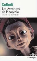Couverture du livre « Les aventures de Pinocchio ; histoire d'un pantin » de Carlo Collodi aux éditions Gallimard
