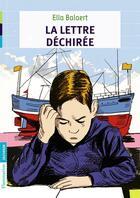 Couverture du livre « La lettre dechirée » de Ella Balaert aux éditions Flammarion