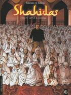 Couverture du livre « Shahidas t.1 ; le fruit du mensonge » de Volante+Galandon aux éditions Bamboo